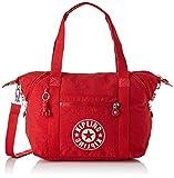 Kipling - Art Nc, Bolsos maletín Mujer, Rojo (Lively Red), 20x44x27 cm (B x H T)
