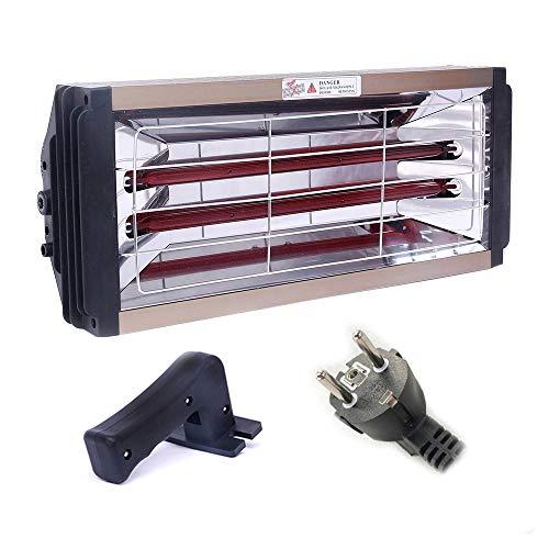 OPIN 2000W Autolacklampe, Smart Timing Kurzwellen-Handheizlampe Für Kraftfahrzeuge, Lackraumheizlampe Kann Auch Für Hausheizung Und Autofenster-Defogging Verwendet Werden