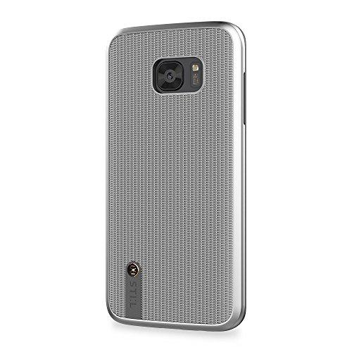 STI: L ketting sluier beschermhoes case voor Samsung Galaxy S7 Edge – zilver