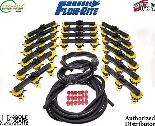 Flow-Rite Pro-Fill BG-U96V-1G (12v x 8) Polaris EV Battery Watering Kit w/Pump