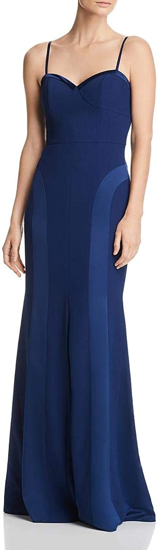 Aidan Mattox Aidan Womens Black Tie Formal Evening Dress