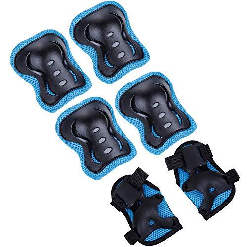 Ya Jin 1 Reihe von Skateboard Fahrrad Ellenbogen Armband Kinder Knieschützer Set Schutzausrüstung