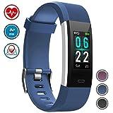 WOWGO Montre Connectée, IP68 Etanche Bracelet Connecté Fitness Tracker Podometre Moniteur de Fréquence Cardiaque Smart Watch...