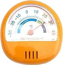 ABS Plástico Dial Cocina Refrigerador/Nevera/Congelador Termómetro - naranja - naranja