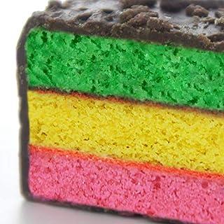 1 LB Original Cakebites Classic Italian Rainbow Cake - Rainbow Cookie