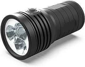 3pcs XHP90.2 super krachtige LED zaklamp 3 Mode fakkel USB oplaadbare 18650 batterij Lamp Ultra Bright Black (Emitting Col...