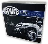 Spike LED Headlight High/Low Bulbs 4000...