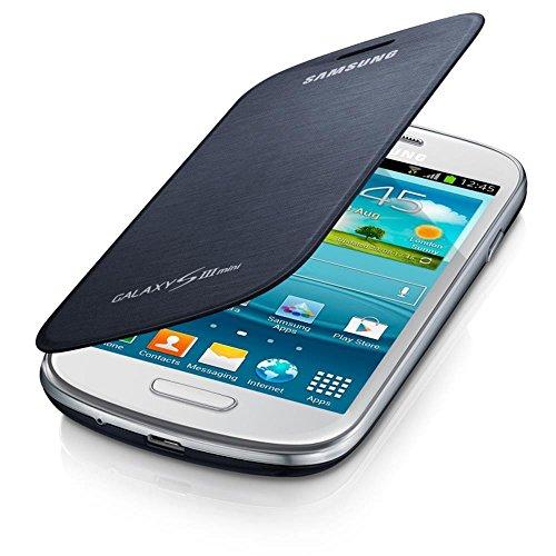 Samsung Flip - Funda para móvil Galaxy S3 Mini (Permite hablar con la tapa...
