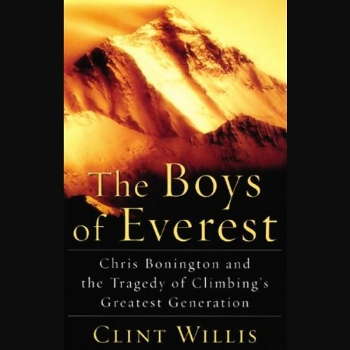 The Boys of Everest audiobook cover art