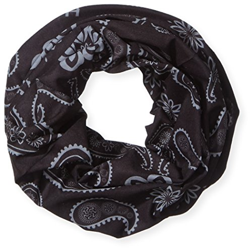 HAD Head Accessoires Original, India Paisley Black, One size, HA110-0422