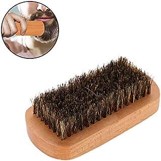 Cepillos de la barba de los hombres, Hombres Pelo Sintético Suave Mango de Madera Cepillo
