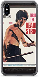 iPhone XR Case Anti-Scratch Motion Picture Transparent Cases Cover Bruce Lee Deadly Strike Movies Video Film Crystal Clear