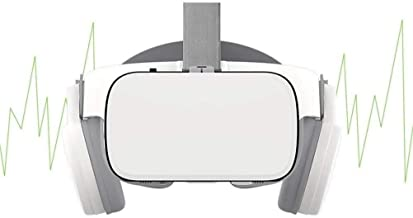 Portable 3D VR Glasses, Home VR Headset Virtual Reality Headset Large Screen HD VR Goggles for TV, Movies & Video Games Wi...