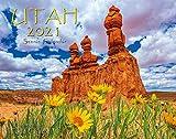 Utah 2021 Deluxe Wall Calendar