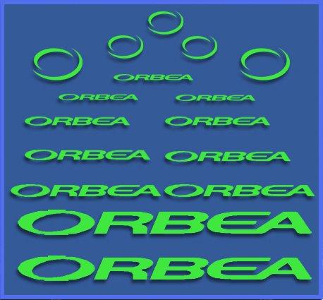 Ecoshirt 7E-NVE3-D4QU Pegatinas Orbea Dr04 Vinilo Adesivi Decal Aufkleber Клей MTB Stickers Bike, Verde