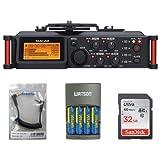 Tascam DR-70D 4-Channel Audio Recorder For DSLR Camera, Acc Bundle. Kit #DR70DK