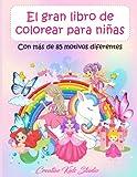 El gran libro de colorear para niñas: Con más de 85 motivos diferentes