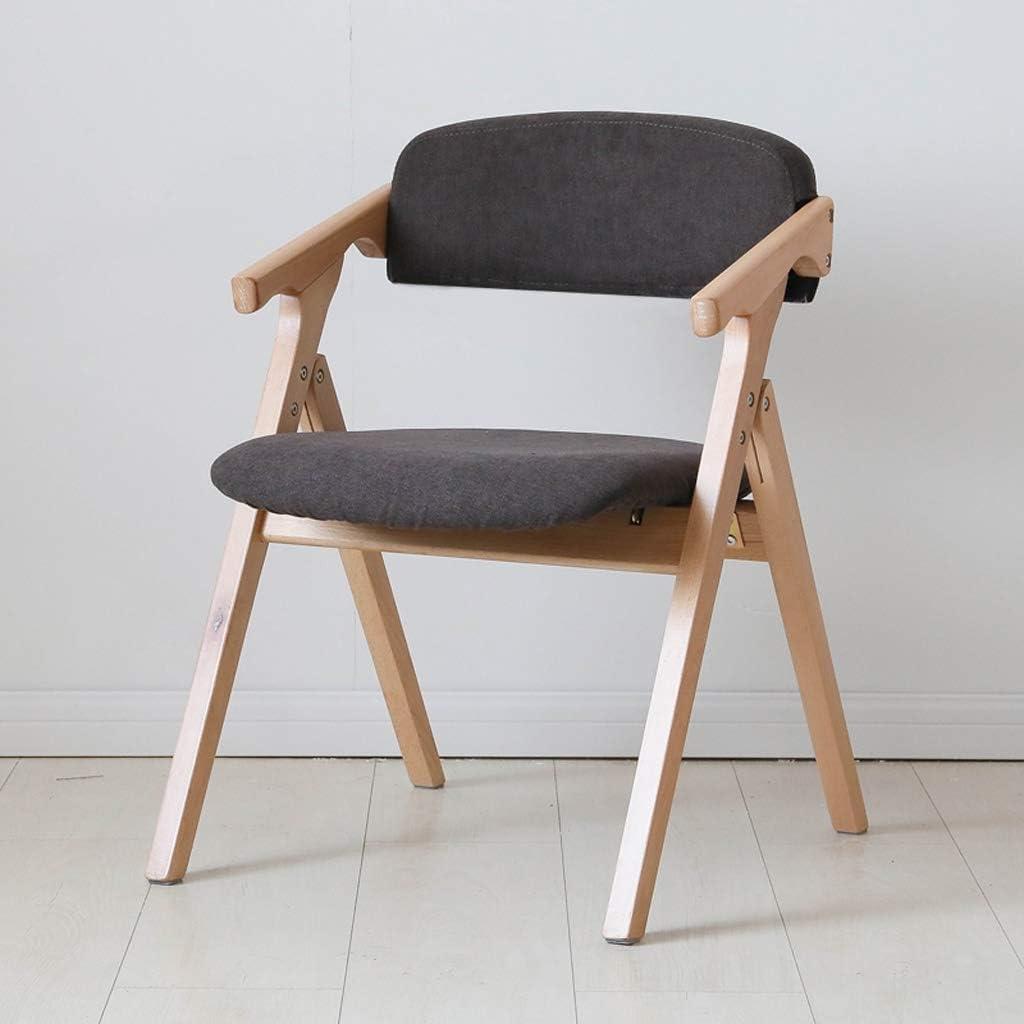 HXF- Chaise de salle à manger, chaise de bureau simple, dossier créatif, chaise de loisirs, chaise de salle à manger pour adulte durable (couleur : marron foncé) Marron Foncé