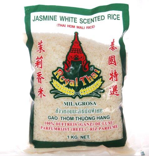 Arroz jazmín con aroma a jazmín 1 kg de arroz jazmín ROYAL...