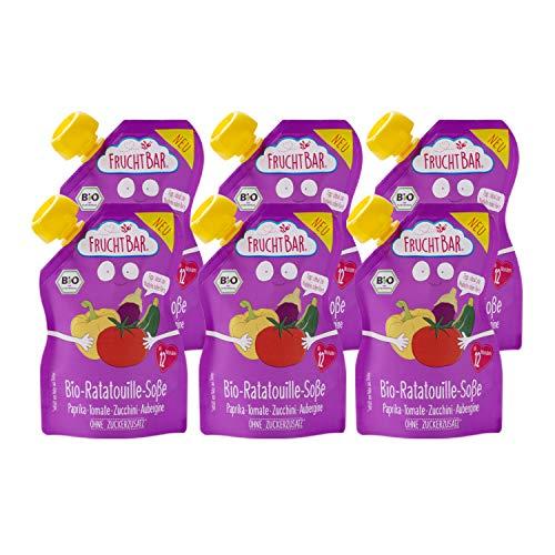 FruchtBar – Bio-Ratatouille-Soße, 6x 190g