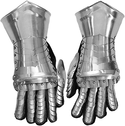 THORINSTRUMENTS (with device) Medieval Knight Gauntlets Armor Steel Gloves