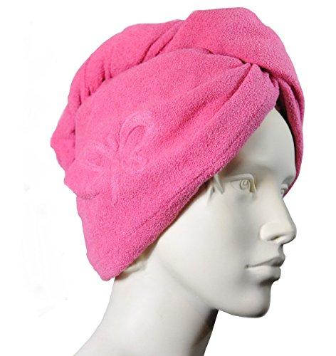 Jemako Jemotion Haarturban Microfaser Haartuch schnelltrocknend Handtuch