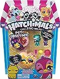 Hatchimals à Collectionner - 6054182 - Jouet enfant - Pack de 3 Hatchimals + 3 animaux Saison 7 - Modèles aléatoires