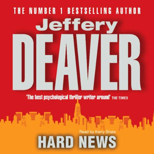 Hard News audiobook cover art