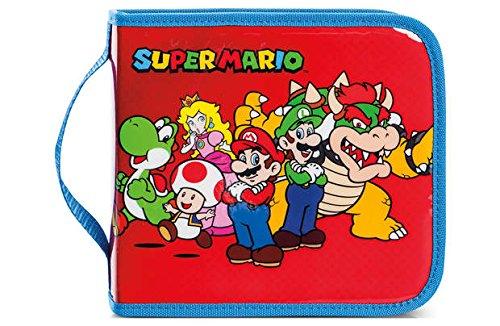 Super Mario Universal Folio Rangement Console pour Nintendo...