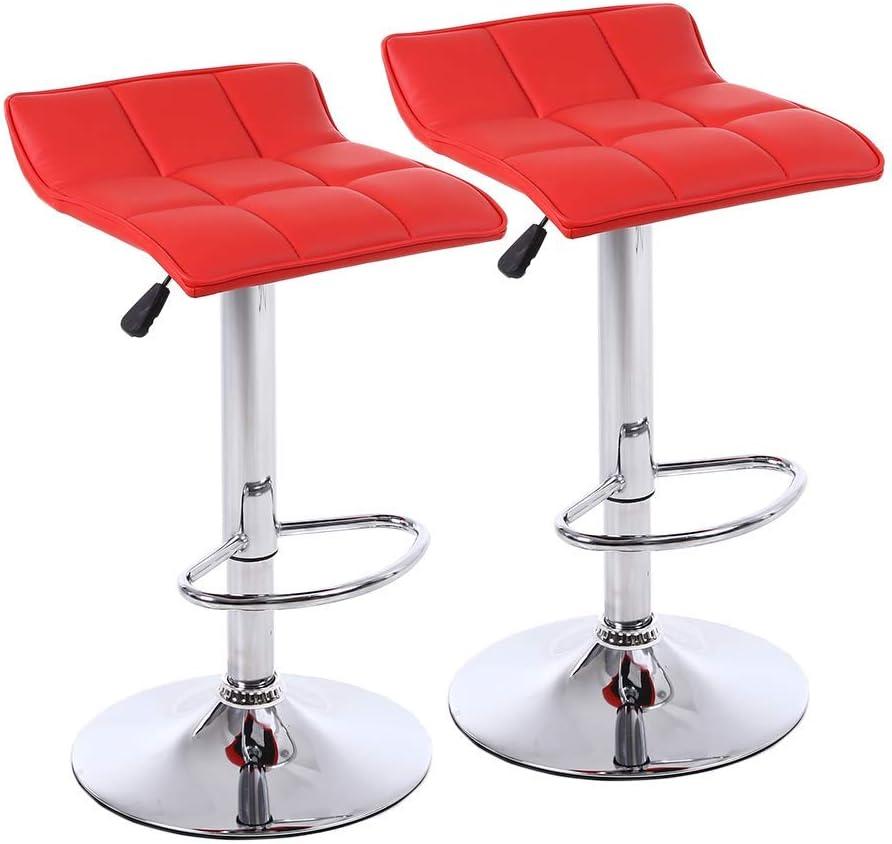 360 Degree Adjustable Swivel Barstools with PVC Branded Elegant goods Leather PU Chro
