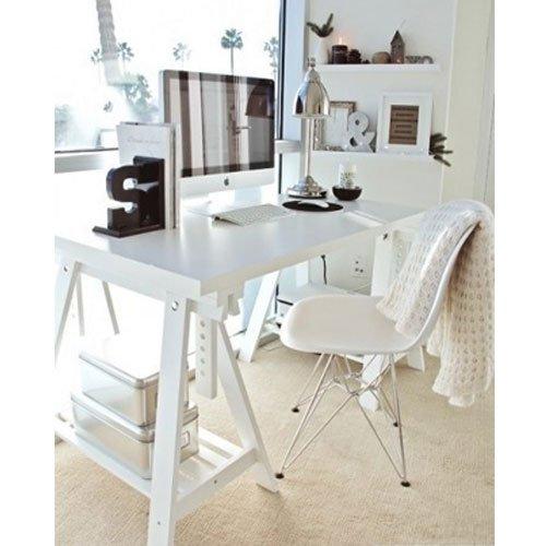 Ikea Linnmon de color blanco con de escritorio para embutir a 59 x ...