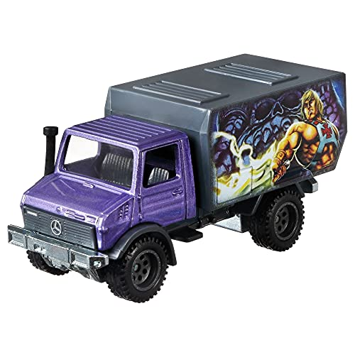 Hot Wheels Pop Culture 88 Mercedes Unimog U1300 of 1:64 Scale Vehicle for Kids Aged 3 Years Old & Up & Collectors of Classic Toy Cars, Featuring New Castings & Themes