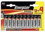 Energizer Max Batterien AA, 16 Stück