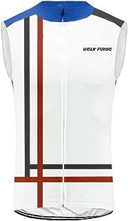 Uglyfrog Men's Cycling Vest Sleeveless Winter Sportswear Fleece Windproof Thermal Wear Jersey Coat Jacket HUS19DJZR18