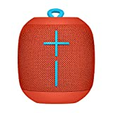 Ultimate Ears Wonderboom Portable Wireless Bluetooth Speaker, Thundering Bass, 360 Sound, Waterproof, Connect Two Speakers for Loud Hi-Fi, 10 Hour Battery Life, 100 ft Range - Stone Grey