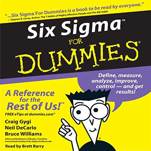 Six Sigma for Dummies Titelbild