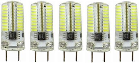 LED Lamp 5pcs,G8 LED Bulb Dimmable 3 Watts AC200-240V 30W Equivalent Bi-pin T4 G8 Base Halogen LED Bulb for Under-Cabinet ...