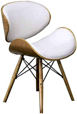 Ergonomic Desk Chair Side Chair Guest Chair Kitchen Dining Chair with Curved Seat Ergonomic Computer Desk Office Chair Reception Chair (Color : E)