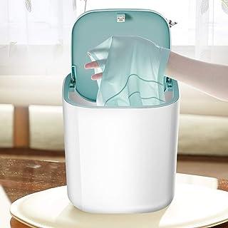 Bärbar kompakt mini tvättmaskin tvättmaskin 3,8 l tvättmaskin på bordsskiva USB-driven bärbar underkläder tvättmaskin för ...