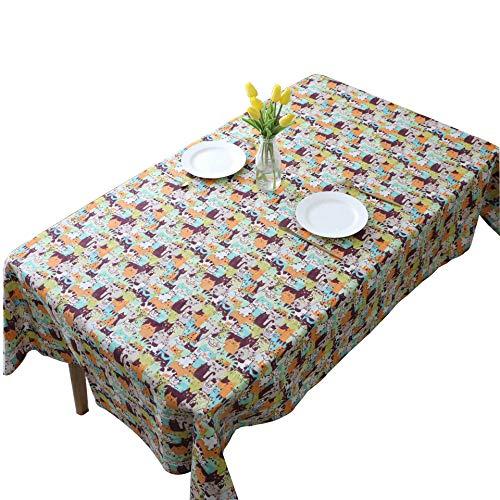 Imperméable Nappe salle à manger Table Cover Home Outdoor Picnic 1PC Pure Color