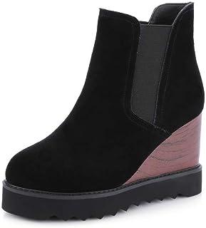 BalaMasa Womens Nubuck Solid Boots Urethane Boots ABM13254