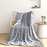 Luxury Faux Fur Throw Blanket and Throws,Super Soft Blanket Fuzzy Plush Bed Throws Bedding Blanket.Best Cozy Blanket for Bed Couch Sofa, Lightweight Bed Blanket Comfy Blankets. 51'x63'(PV Blue)