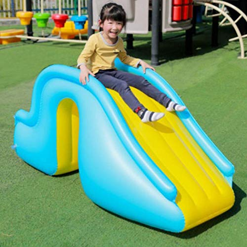 N/H Tobogán acuático Inflable Pasos más amplios Suministros para Piscinas alegres Niños Juego de Agua instalaciones de recreación para bebés