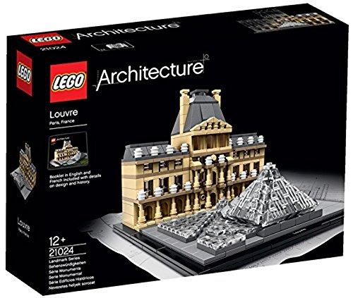 LEGO Architecture 21024 - Louvre, Sehenswürdigkeiten-Baureihe