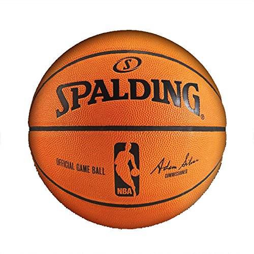 Fantastic Prices! Spalding NBA Leather Game Ball Official
