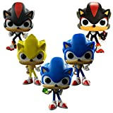 MIAOGOU Sonic Juguete 5 Unids Sonic 10cm PVC Figuras De Acción Juguetes Decoración De Escritorio Modelo Juguetes para Niños
