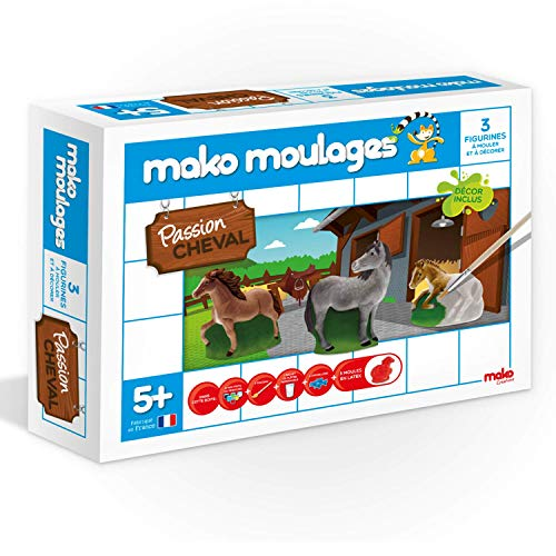 Mako Moulages - Passion Cheval - 3 Figurines