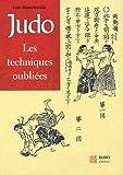 Judo - Les techniques oubliées