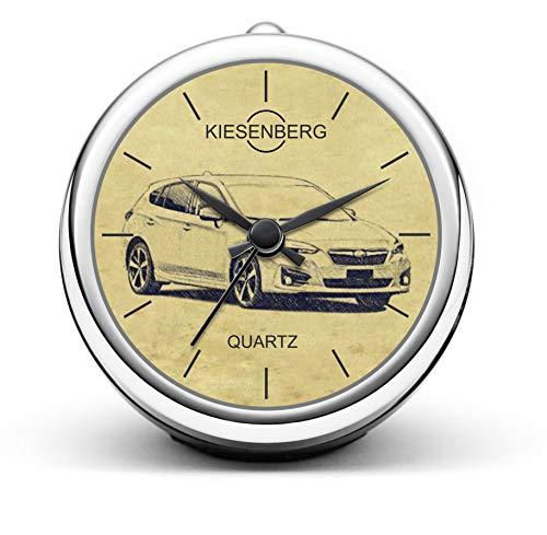 KIESENBERG Design Tischuhr Geschenk für Impreza ab 2016 Fan Uhr T-5226