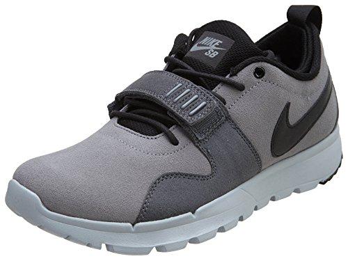 Nike Trainerendor L, Scarpe da Skateboard Uomo, Grigio, Nero, Bianco (Cool Grey Blk Drk Gry Wlf Gry), 39 EU